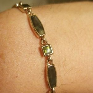 Gold and green tone bracelet PM 749